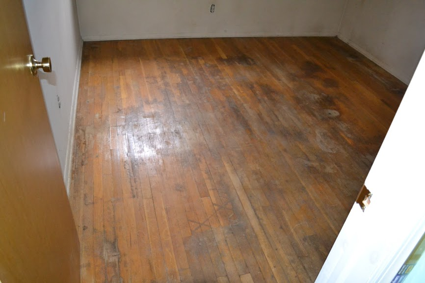 Hardwood damaged by water images for Hardwood floor repair