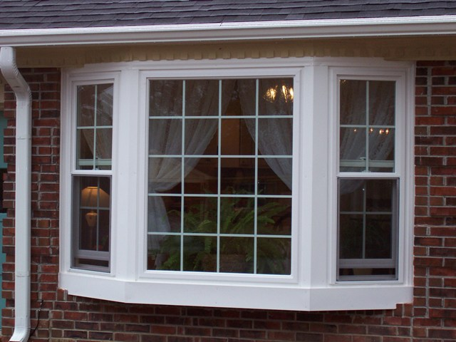 How much are upvc bay windows american hwy for Replacement upvc windows