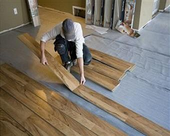 Floating vinyl plank flooring installation contractor quotes for Flooring installation