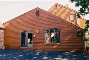 How to Stain Cedar Siding