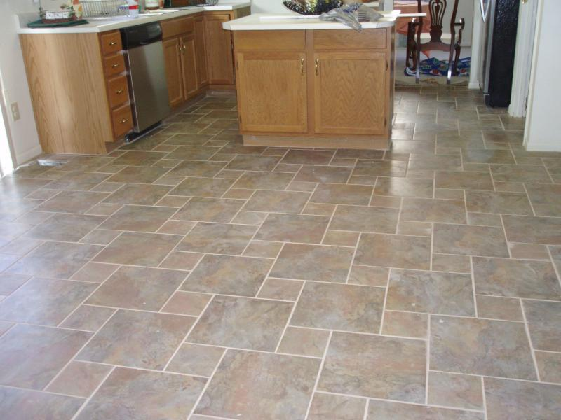 How to tile a kitchen floor contractor quotes for Tiling kitchen floor
