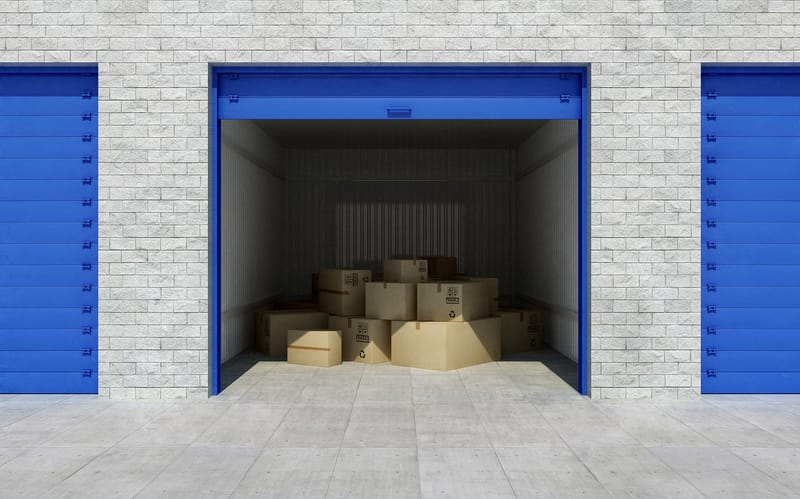 a look inside a storage room