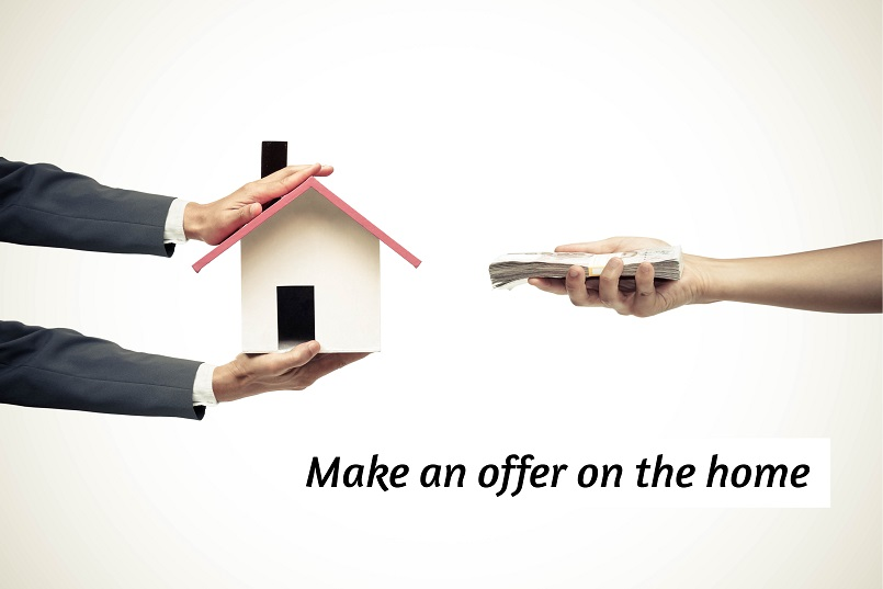 make an offer on the home