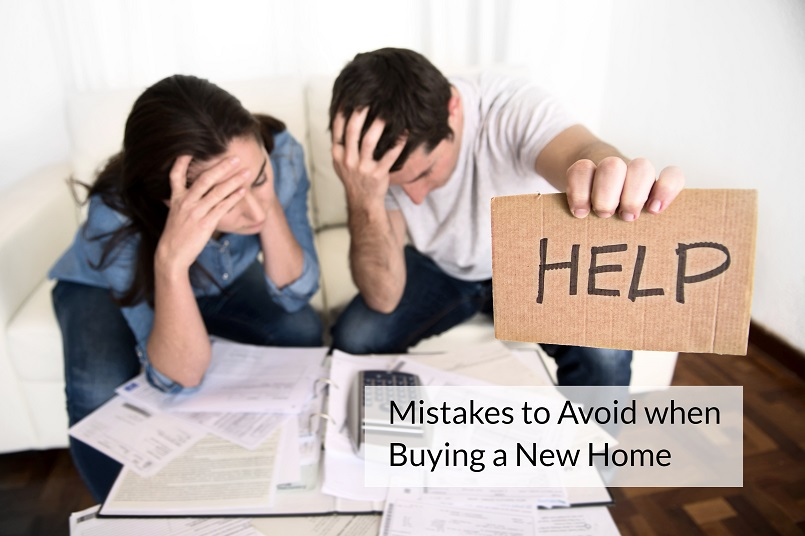 mistakes to avoid when buying a new home