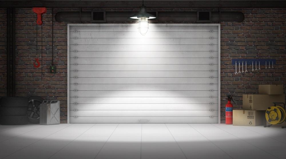 Garage illustration