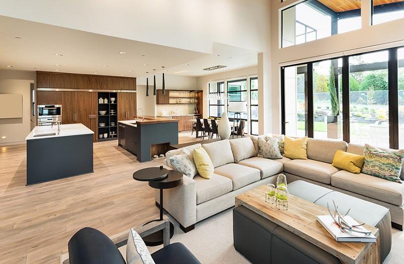 Decorating An Open Floor Plan