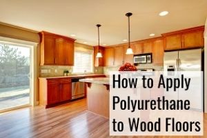 applying polyurethane to wood floors