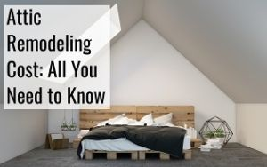 attic remodeling cost