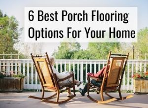 porch flooring options