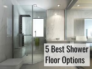 shower floor options