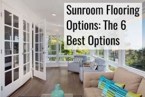 sunroom flooring options