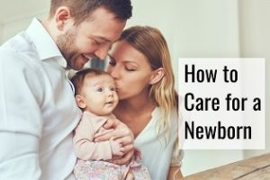 caring for a newborn