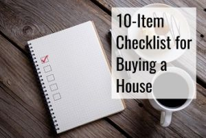 checklist lying on the table