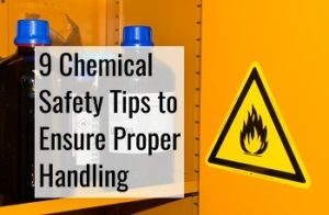 chemical safety tips to ensure proper handling