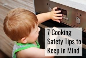 cooking safety tips to keep in mind