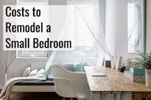 costs to remodel a small bedroom