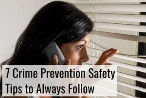 crime prevention safety tips to follow