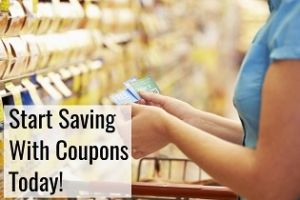 start saving with coupons