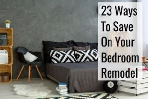 tips to save on your bedroom remodel
