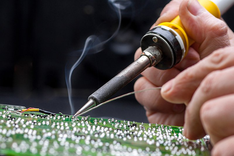 Soldering Safety Tips