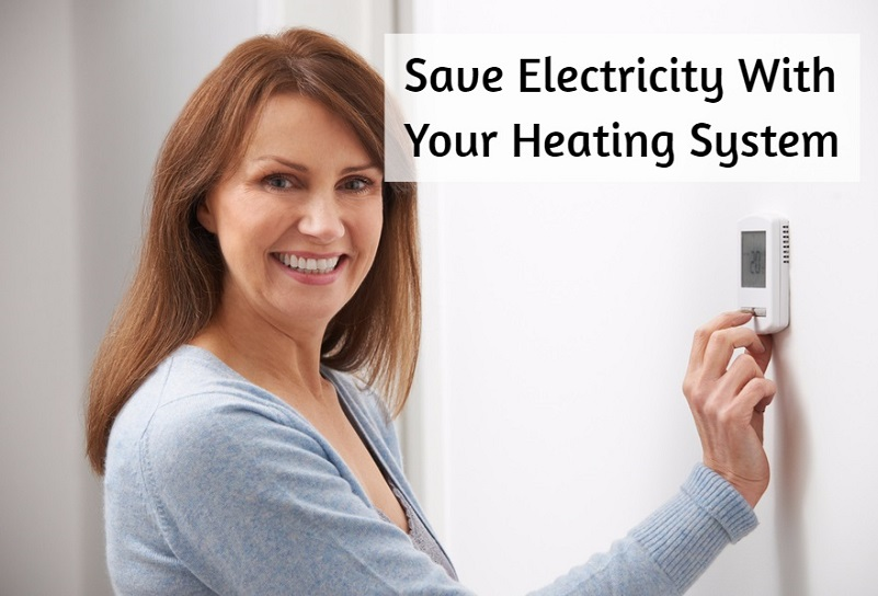 save electricity with your heating system