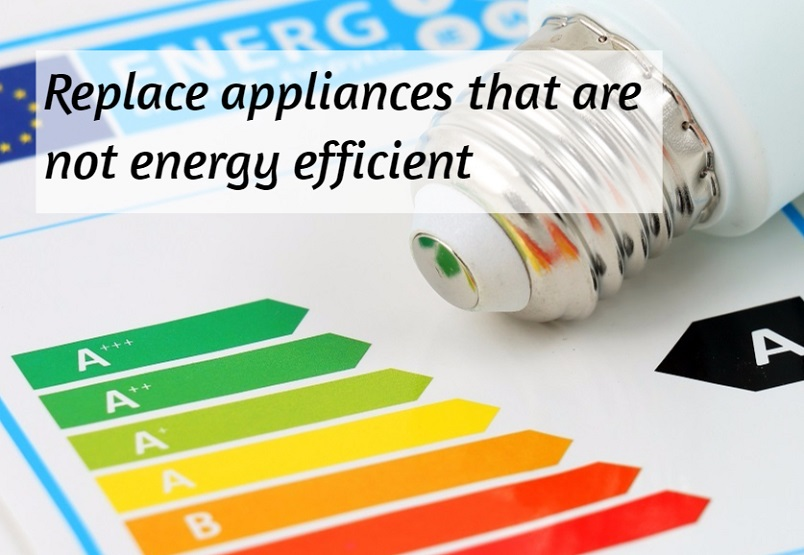 saving energy with appliances