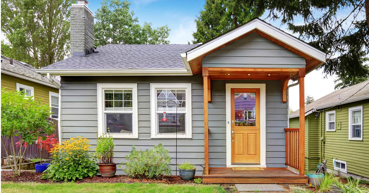 Curb Appeal for Small Homes