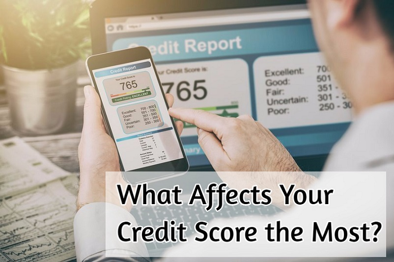 what affects your credit score the most
