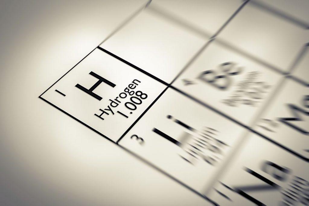 hydrogen illustration