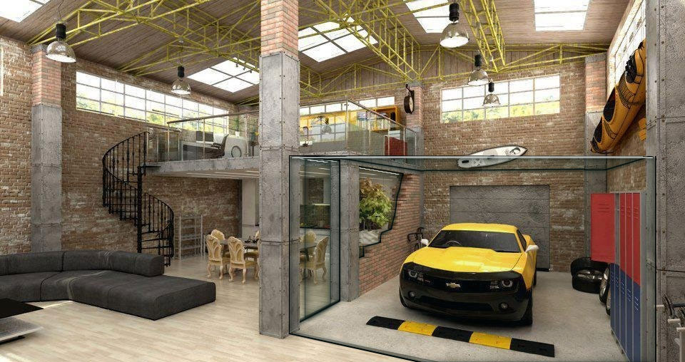 80 facts about garage to bedroom conversions costs ideas for Cool car garage ideas