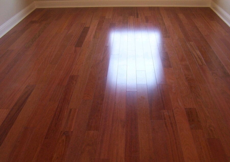 how to clean finished wood floors