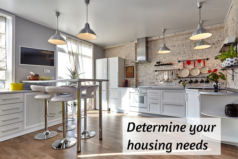 determine your housing needs