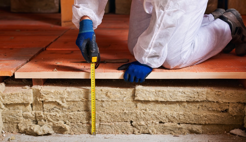 pro measuring flooring insulation