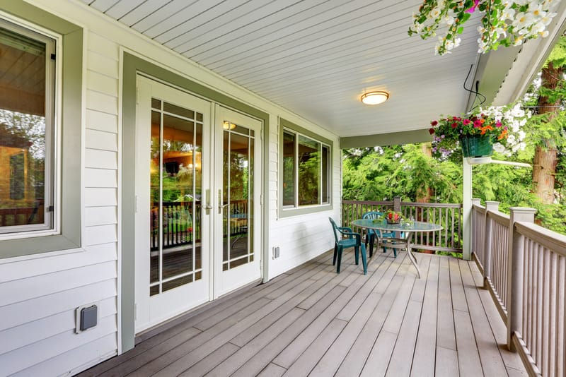 21 best front porch flooring options outdoor covered