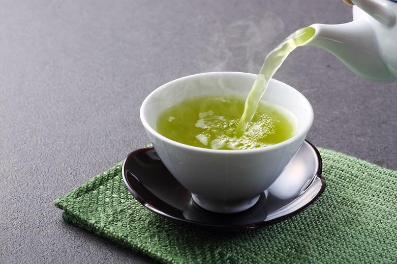 green tea and healthy skin