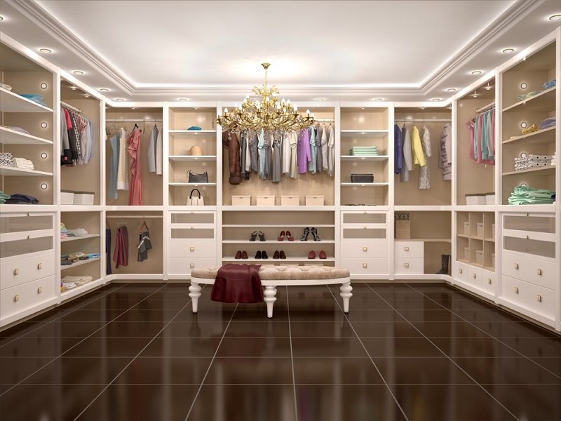 Decorating A Walk in Closet