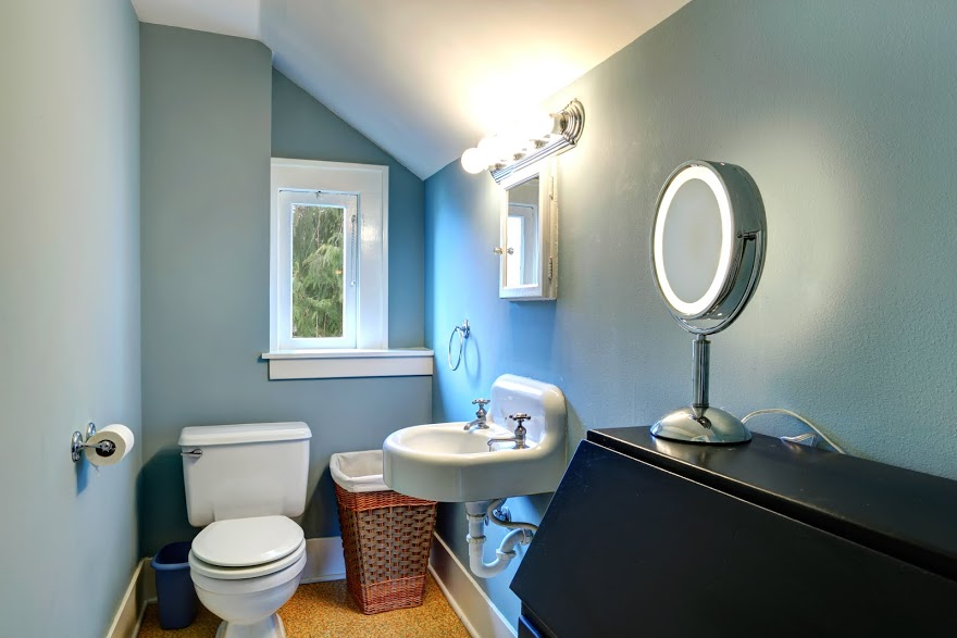 decorating a powder room