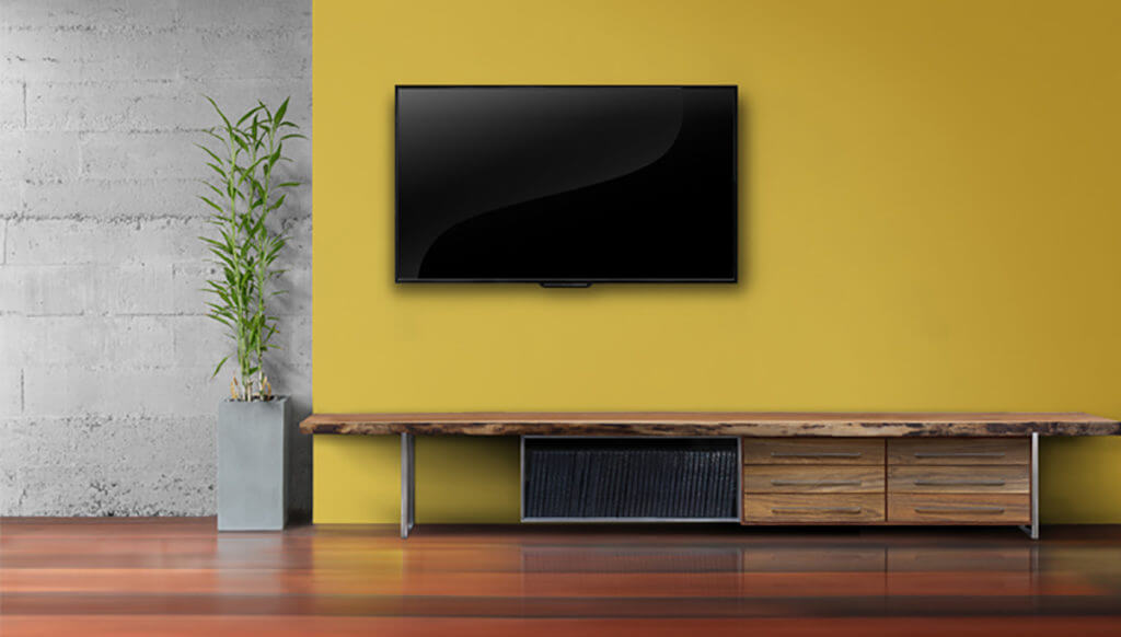 decorating around a tv