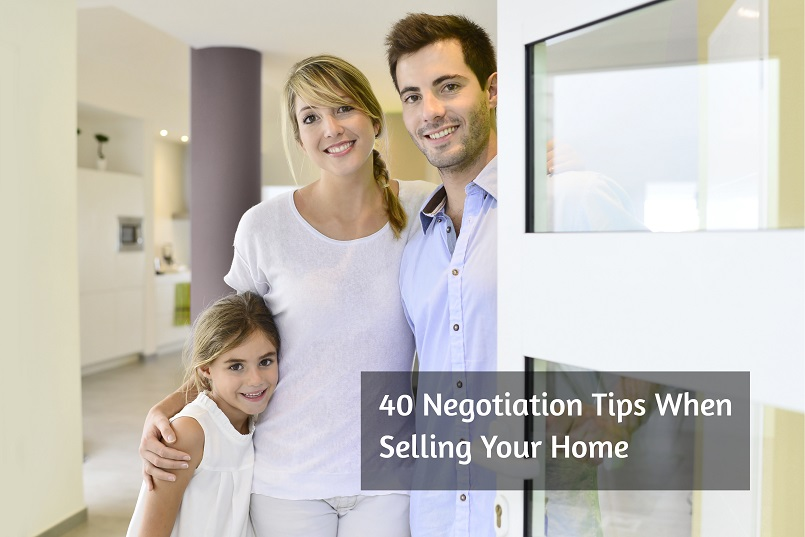 negotiation tips when selling your home