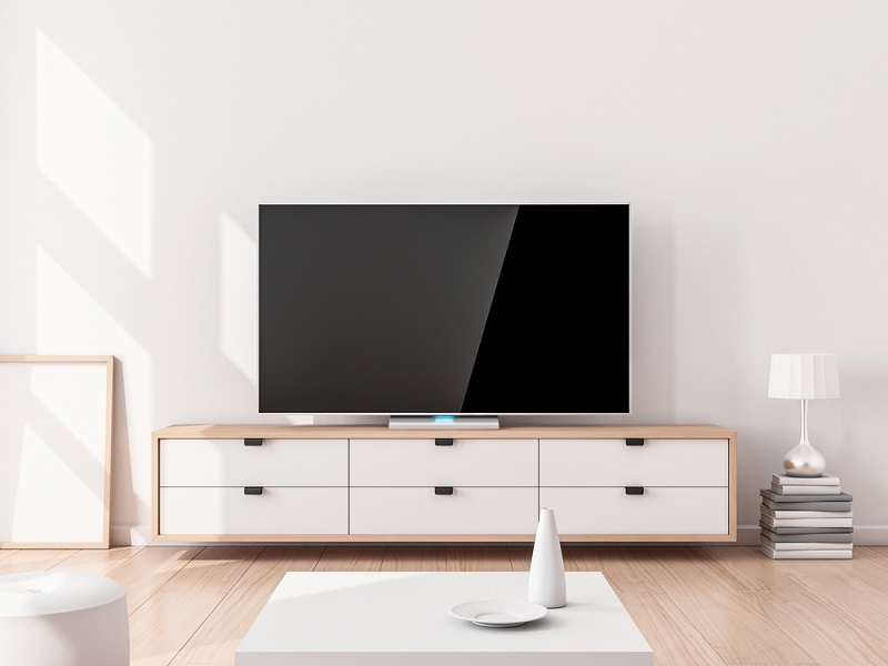 TV, Stand and Other Components
