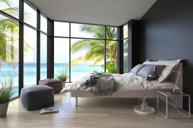 beach master bedroom