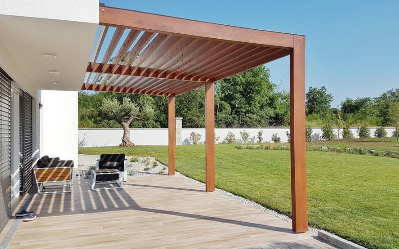 beautiful pergola