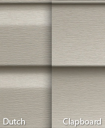 different types of siding