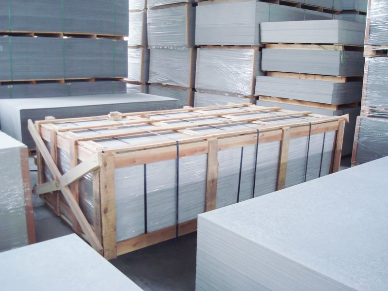 storage of fiber cement