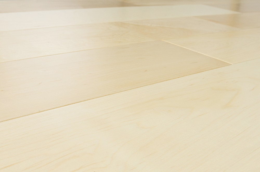 Light maple floor