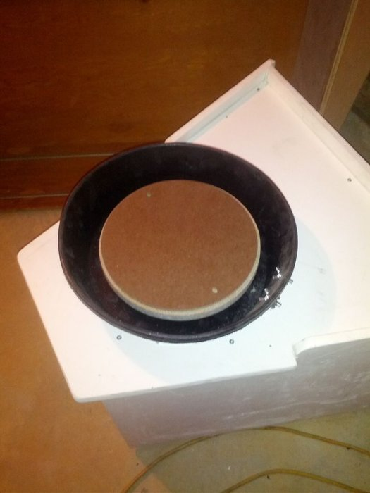 homemade pottery wheel