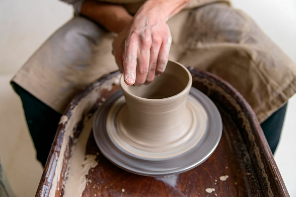 Ceramic Throwing Potter's or Pottery Wheel
